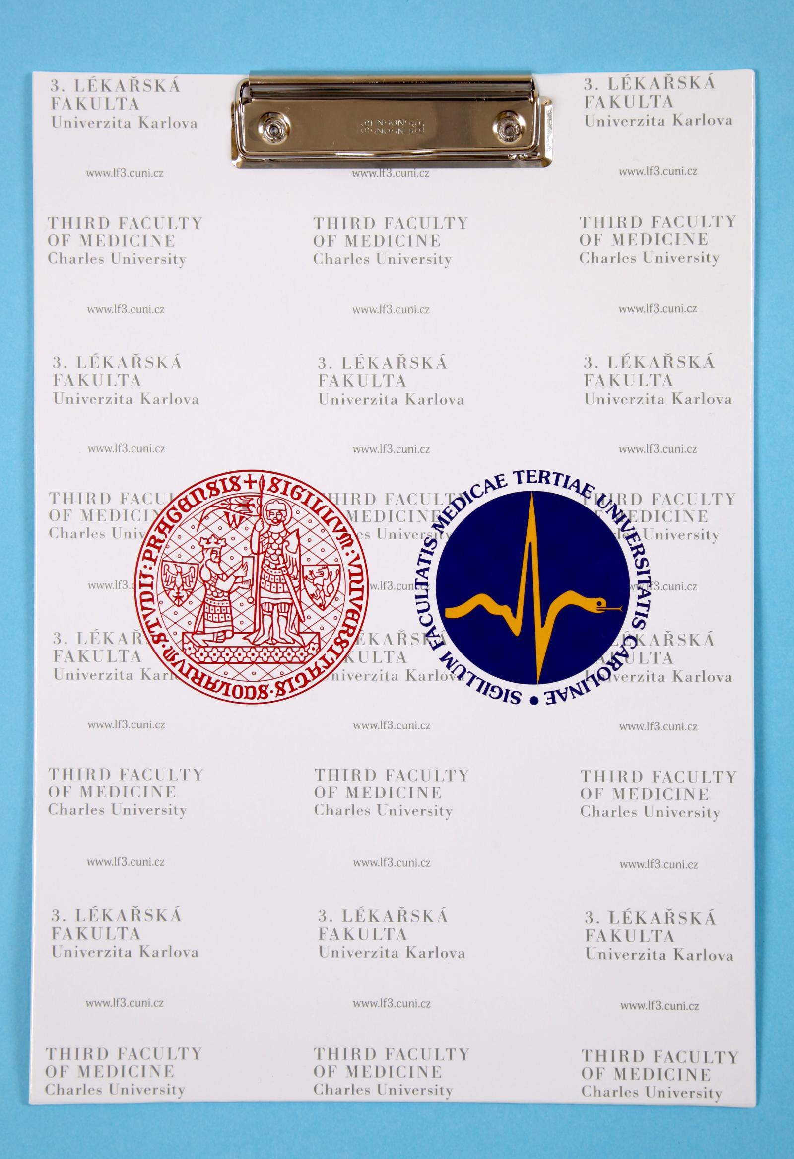da7c612ef61 Propagační předměty 3. LF UK - 3. lékařská fakulta