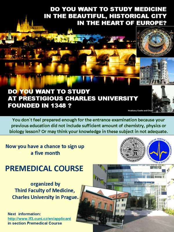 Information on pre-med course?
